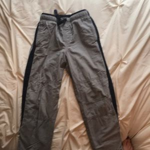 GYMBOREE boy's size 7 fleece lined athletic pants